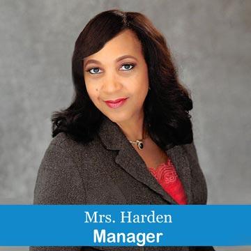 Mrs. Harden